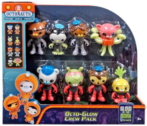 Fisher Price Octonauts Octo-Glow Crew Pack Mini Figure 8-Pack