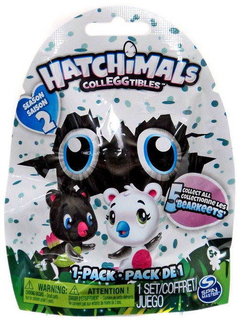 Hatchimals Colleggtibles Season 2 Bearakeets Exclusive Mystery 1-Pack [1 RANDOM Figure]