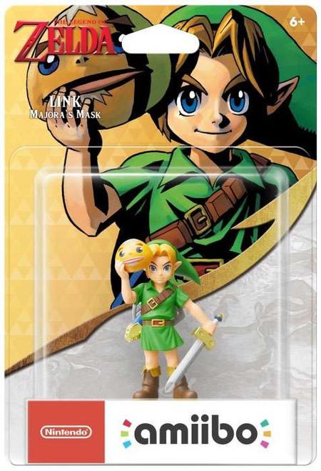 Nintendo Breath of the Wild Amiibo Link Exclusive Mini Figure [Majora's Mask]