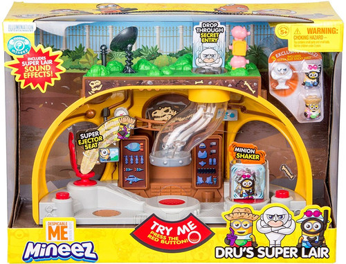 Despicable Me Minions Mineez Dru's Super Lair Playset