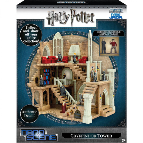 Harry Potter Nano Metalfigs Nano Scene Gryffindor Tower 1.5-Inch Playset