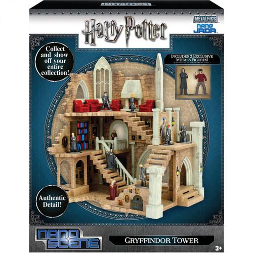 Harry Potter Nano Metalfigs Nano Scene Gryffindor Tower 1.5-Inch Playset