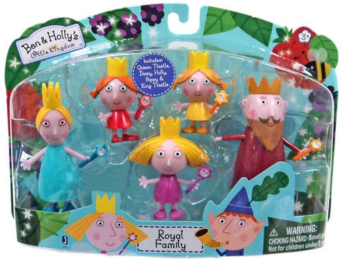 Ben & Holly's Little Kingdom Royal Family Exclusive Mini Figure 5-Pack