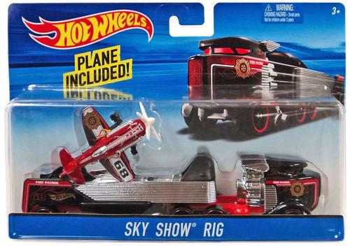 Hot Wheels Sky Show Rig Die-Cast Car