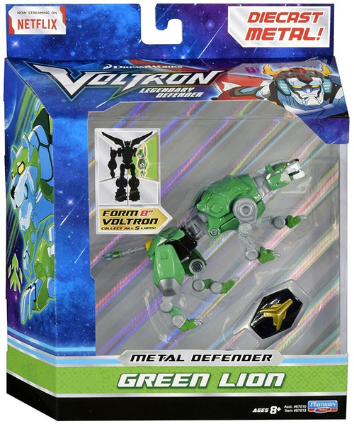 Voltron Legendary Defender Metal Defender Green Lion Diecast Action Figure