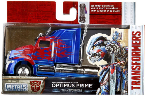 Transformers The Last Knight Metals Die Cast Optimus Prime 1:32 Die Cast Vehicle [1:32]