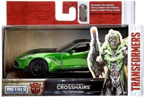 Transformers The Last Knight Metals Die Cast Crosshairs 1:32 Die Cast Vehicle