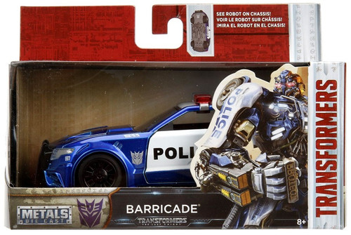 Transformers The Last Knight Metals Die Cast Barricade 1:32 Die Cast Vehicle