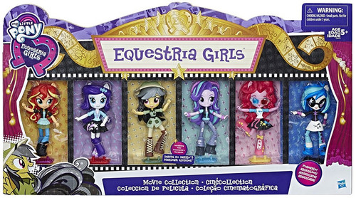 My Little Pony Equestria Girls Minis Movie Collection Exclusive 4.5-Inch Doll 6-Pack