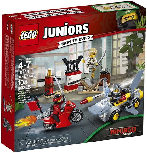 LEGO Juniors The Ninjago Movie Shark Attack Set #10739