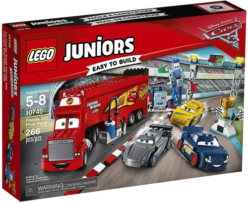 LEGO Disney / Pixar Cars Cars 3 Juniors Florida 500 Final Race Set #10745