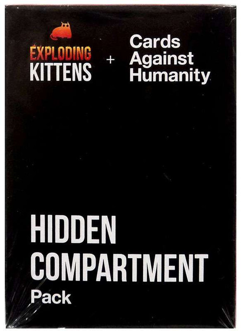 Cards Against Humanity Exploding Kittens Hidden Compartment Pack