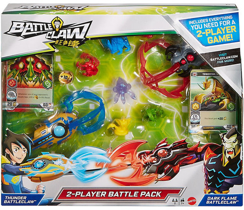 Thunder Battleclaw & Dark Flame Battleclaw 2-Player Battle Pack