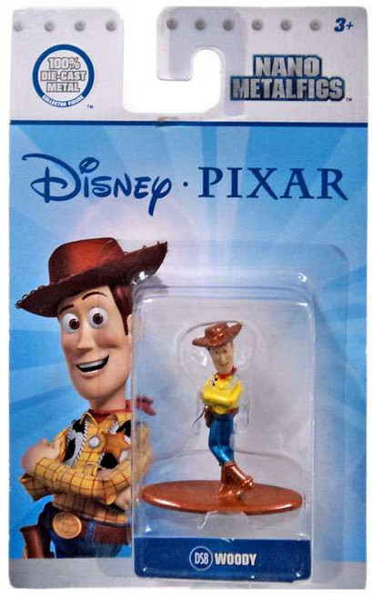 Disney / Pixar Nano Metalfigs Woody 1.5-Inch Diecast Figure DS8