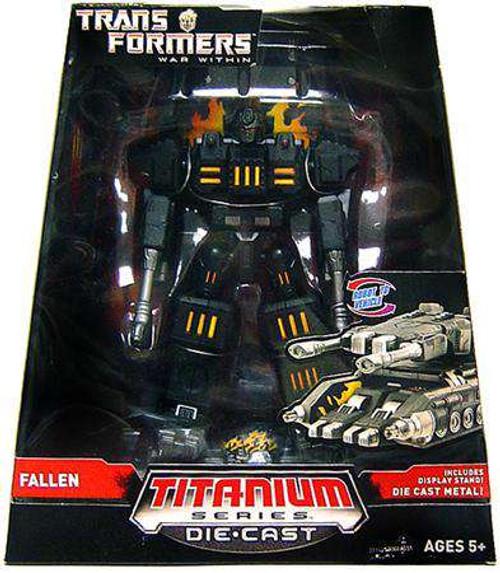 "Transformers War Within TItanium Series The Fallen 6-Inch 6"" Diecast Figure [Damaged Package]"