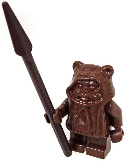 LEGO Star Wars Ewok with Brown Hood Minifigure [Loose]