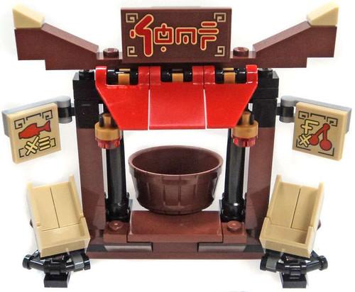 LEGO Ninjago Food Stand Set [Loose]