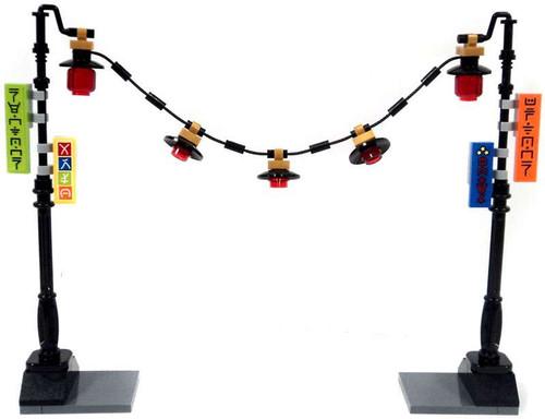 LEGO Ninjago Lamp Posts with Lights Set [Loose]
