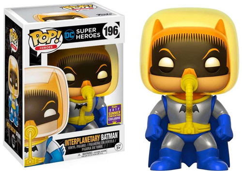 Funko DC Super Heroes POP! Heroes Interplanetary Batman Exclusive Vinyl Figure #196