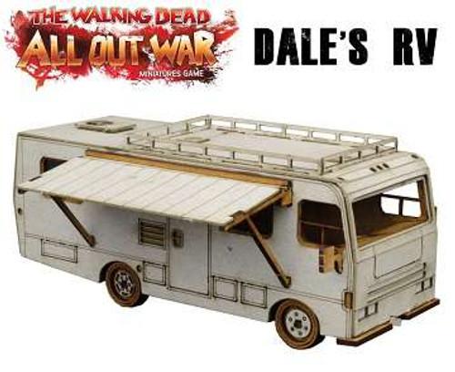 The Walking Dead Walking Dead All Out War Miniature Game Dale's RV Game Terrain