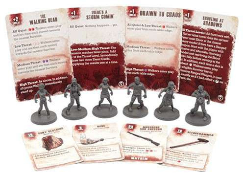 The Walking Dead Walking Dead All Out War Miniature Game Walker Game Booster