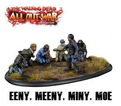The Walking Dead Walking Dead All Out War Miniature Game 'Eeny Meeny Miny Moe...' Collector's Resin Diorama