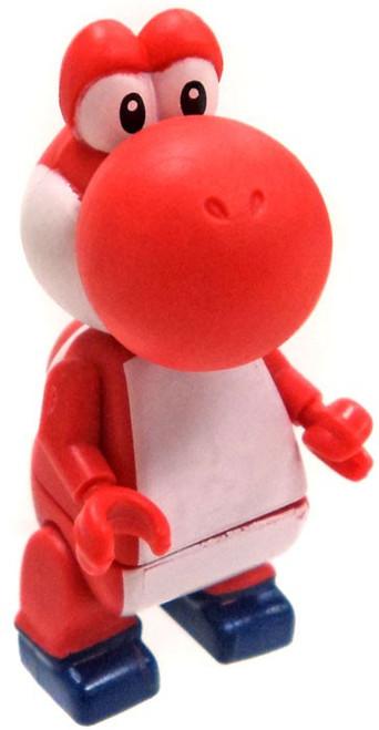 K'NEX Super Mario Series 10 Red Yoshi Minifigure [Loose]