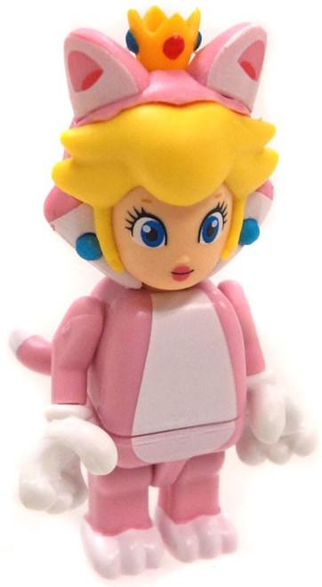 K'NEX Super Mario Series 10 Cat Princess Peach Minifigure [Loose]
