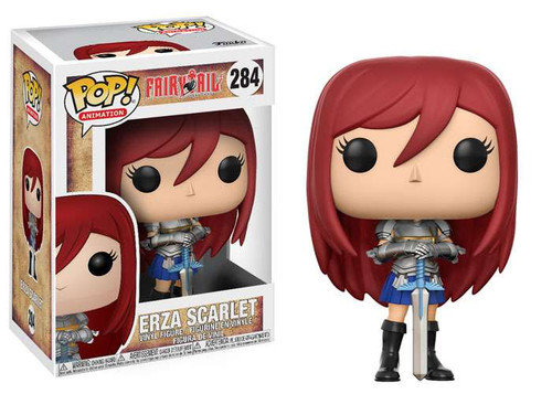 Funko Fairy Tail POP! Animation Erza Scarlet Vinyl Figure #284