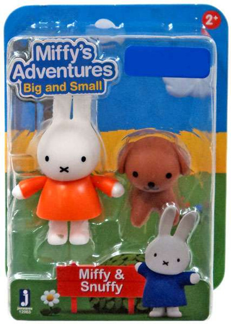 Miffy's Adventures Big & Small Miffy & Snuffy Exclusive Figure 2-Pack