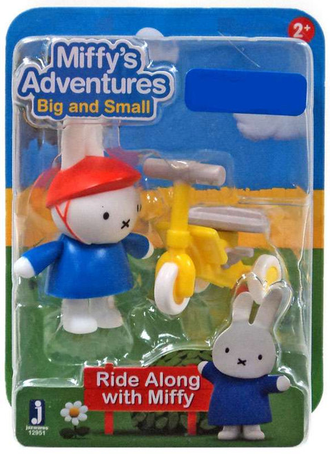 Miffy's Adventures Big & Small Ride Along with Miffy Exclusive Figure