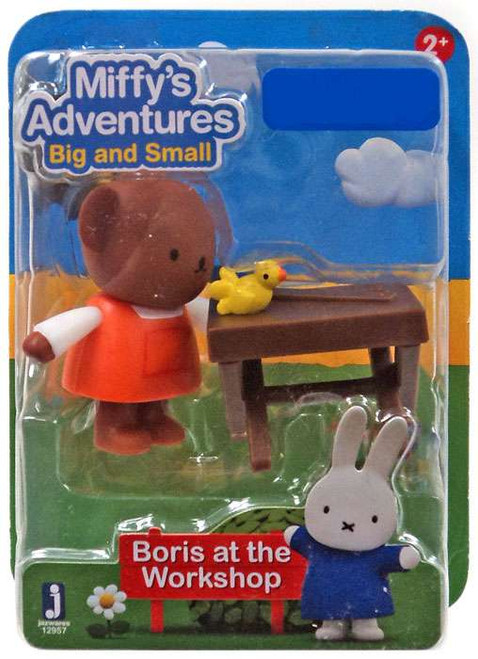 Miffy's Adventures Big & Small Boris at the Workshop Exclusive Figure