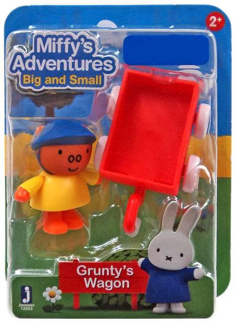 Miffy's Adventures Big & Small Grunty's Wagon Exclusive Figure