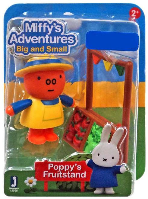 Miffy's Adventures Big & Small Poppy's Fruitstand Exclusive Figure