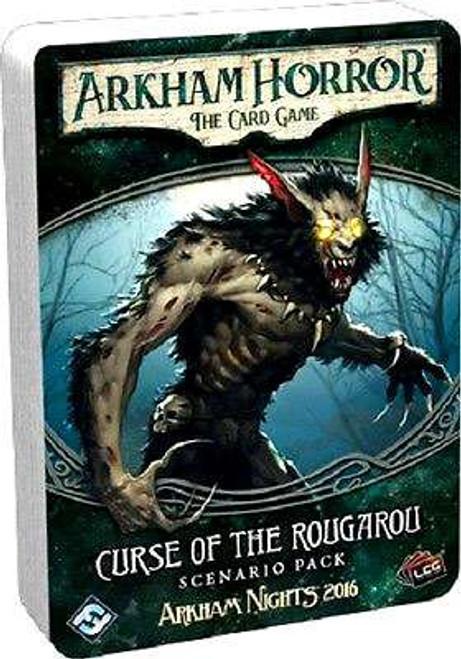 Arkham Horror The Card Game Curse of the Rougarou Scenario Pack
