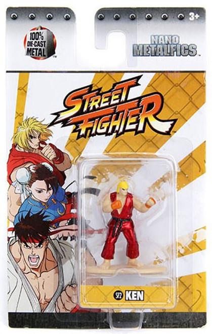 Street Fighter Nano Metalfigs Ken 1.5-Inch Diecast Figure SF2