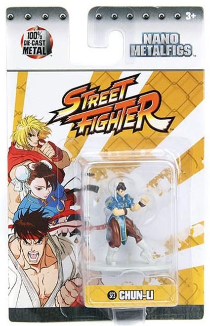 Street Fighter Nano Metalfigs Chun-Li 1.5-Inch Diecast Figure SF3