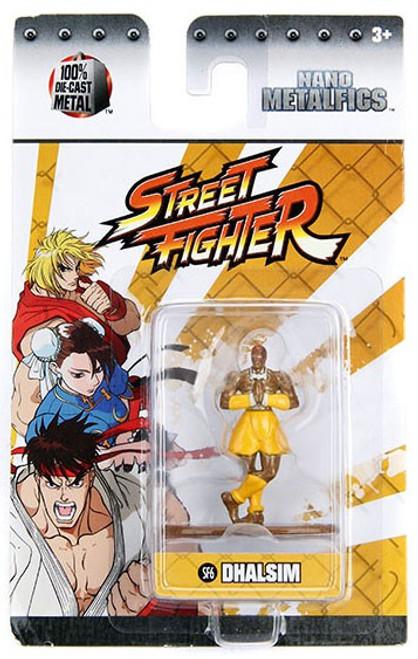 Street Fighter Nano Metalfigs Dhalsim 1.5-Inch Diecast Figure SF6
