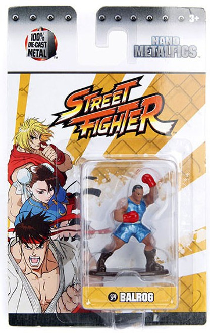 Street Fighter Nano Metalfigs Balrog 1.5-Inch Diecast Figure SF9