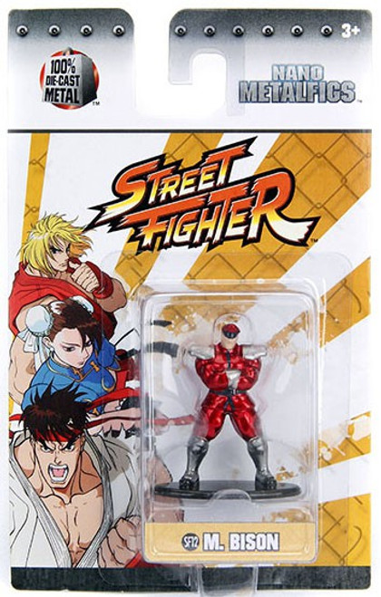 Street Fighter Nano Metalfigs M. Bison 1.5-Inch Diecast Figure SF12