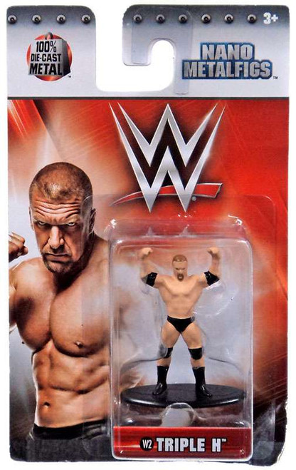 WWE Wrestling Nano Metalfigs Triple H 1.5-Inch Diecast Figure W2
