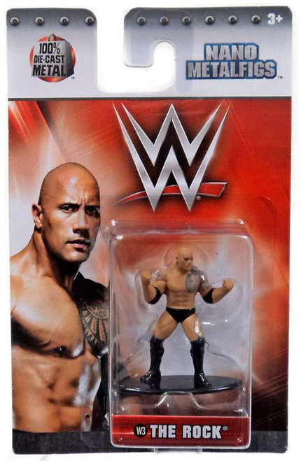 WWE Wrestling Nano Metalfigs The Rock 1.5-Inch Diecast Figure W3