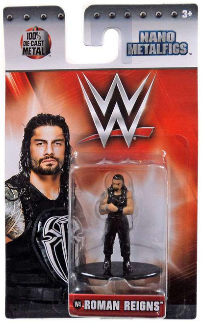 WWE Wrestling Nano Metalfigs Roman Reigns 1.5-Inch Diecast Figure W4