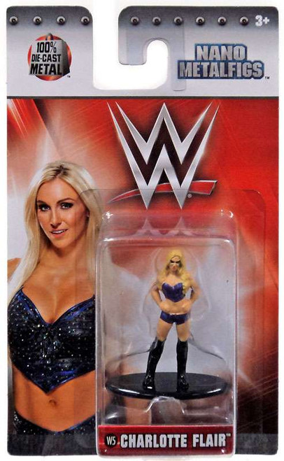 WWE Wrestling Nano Metalfigs Charlotte Flair 1.5-Inch Diecast Figure W5