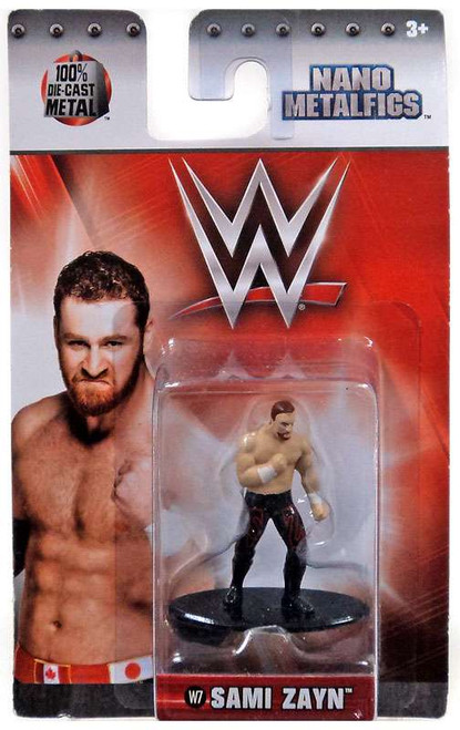 WWE Wrestling Nano Metalfigs Sami Zayn 1.5-Inch Diecast Figure W7