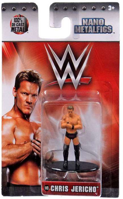 WWE Wrestling Nano Metalfigs Chris Jericho 1.5-Inch Diecast Figure W8