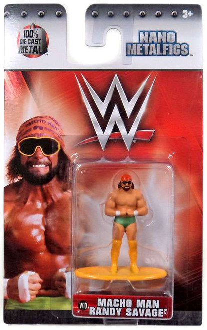 WWE Wrestling Nano Metalfigs Macho Man Randy Savage 1.5-Inch Diecast Figure W10