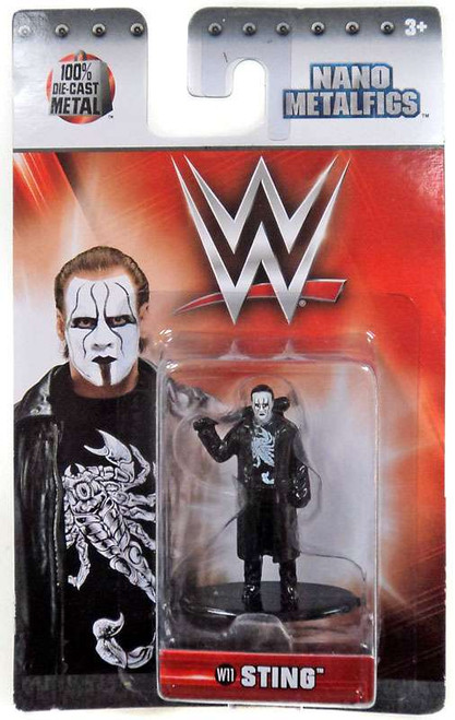WWE Wrestling Nano Metalfigs Sting 1.5-Inch Diecast Figure W11
