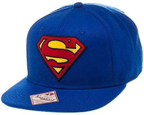 DC Superman Logo Snapback Cap Apparel