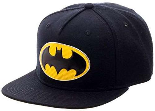 DC Batman Logo Snapback Cap Apparel